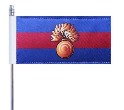 Irish Guards British Army Deluxe Table Flag