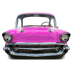 CLASSIC CAR GRILL Stand-In CARDBOARD CUTOUT Standee Standup Poster Standin Pink