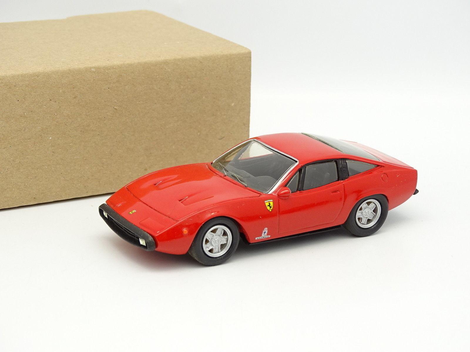 blancoa Metal Kit Monté 1 43 - Ferrari 365 GTC 4 1971 Rojo