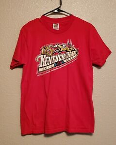 Kentucky-Derby-vintage-125th-anniversay-tee-shirt-NWOT-size-medium