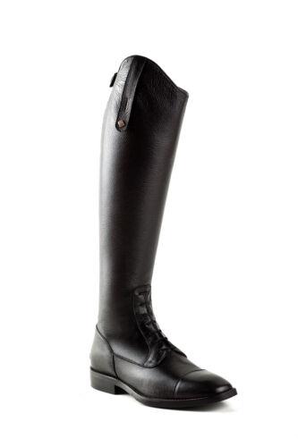 Reit- & Fahrsport DeNiro Riding Boots S3312 Black 36 mc/m Jumping Boots quick soft