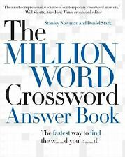 The Million Word Crossword Answer Book-ExLibrary