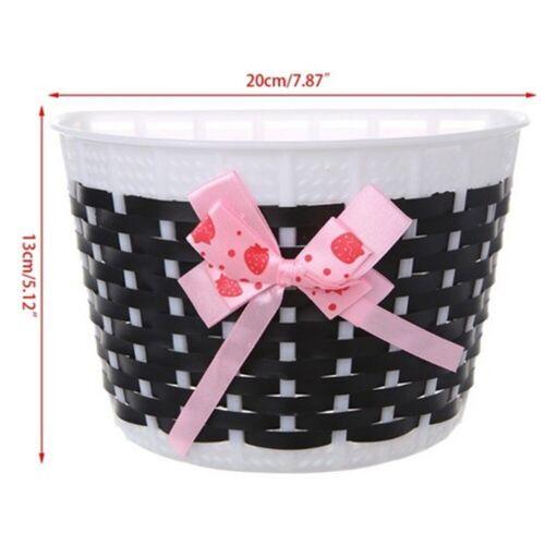 Bike Basket Handmade Front Basket Girls Kids Bicycle Shopping Baskets Gift