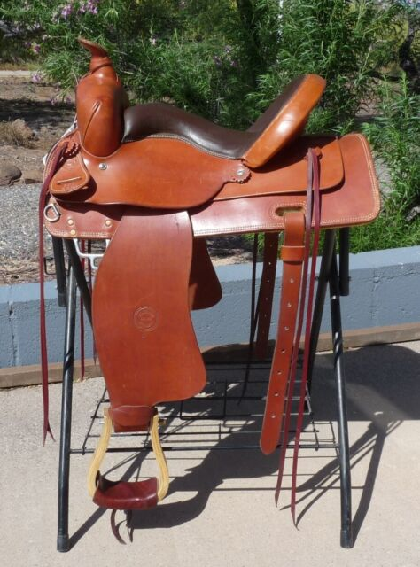 NEW WITH TAGS Colorado Saddlery Top of the Rockies Trail Saddle 16