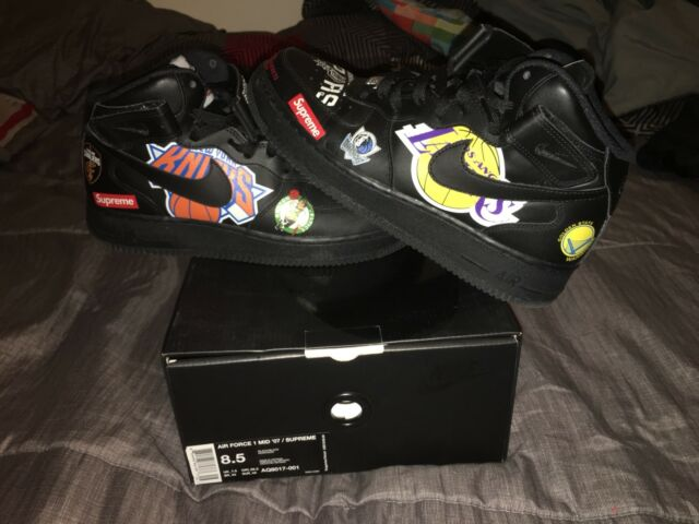 Supreme NBA Nike Air Force 1 for sale online | eBay