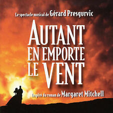 Autant en Emporte le Vent CD Import Soundtrack Musical Gérard Presgurvic RARE