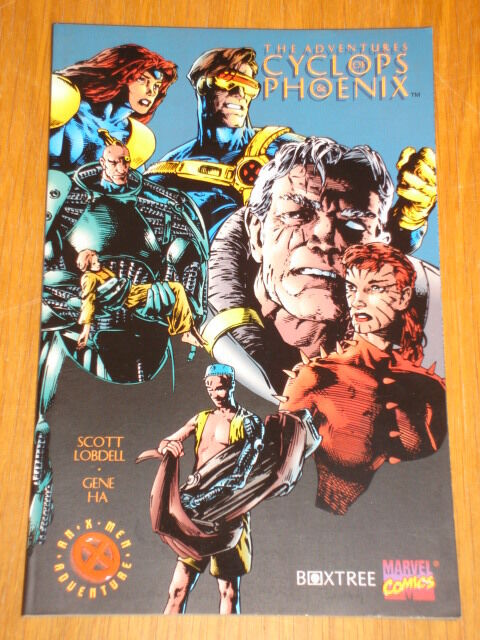 ADVENTURES OF CYCLOPS AND PHOENIX MARVEL COMICS LOBDELL X-MEN < 9780752201399