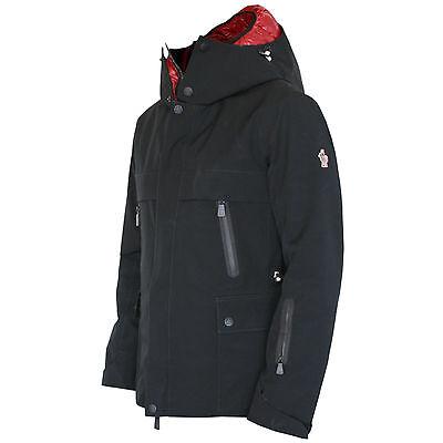 MONCLER GRENOBLE technical insulated down puffer hood coat Forez ski jacket 1/S