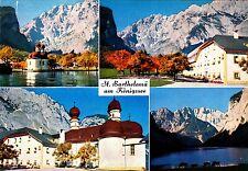 St. Bartholomä am Königssee , Ansichtskarte , ungelaufen