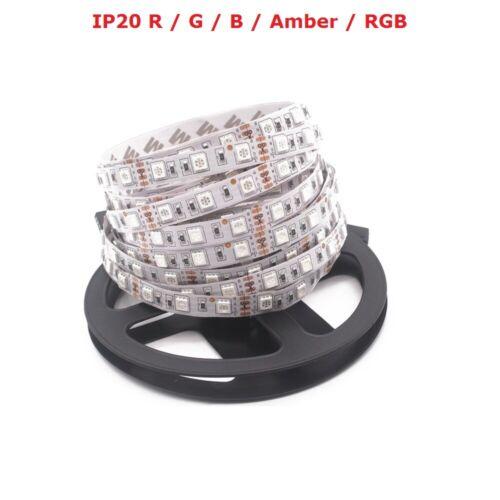 DC 12V 5M SMD 300LEDS 5050 LED RBG Flexible Strip Light Lamp Festival Party Lamp