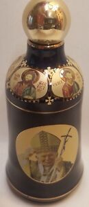 Pope Jean Paul The Dormition of Theotokos Christianity Holy Bottle Ceramic Icon
