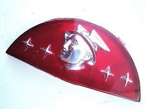 1950 50 Mercury Coffre Pont Crest Plastique Rouge Emblème Neuf Vous Garder En Forme Tout Le Temps