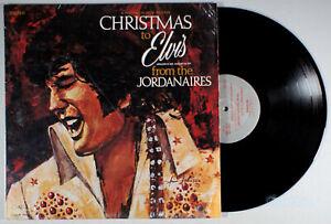 Jordanaires-Christmas-to-Elvis-1978-Vinyl-LP-Holiday-Presley