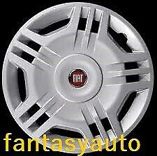 Fiat Panda Dal 2003 /> 2012 1 Una Borchia Copri Cerchio  Coppone 14 Logo Rosso