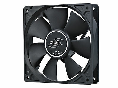 DEEPCOOL XFAN 120 Black Computer Chasis Fan 120mm