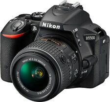 Nikon D5500 24MP DSLR Camera + Nikon 18-55mm VR II Lens