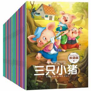 20-books-set-chinese-books-Chinese-English-bilingual-children-039-s-stories-book