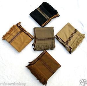 AFGHAN PATOO BLANKET WOOL PATU SHAWL handmade SCARF MEN/&WOMEN mix patoo shawl