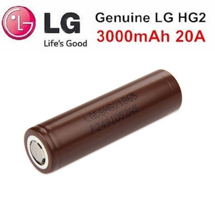 LG HG2 original Akku Li-Ion - 18650 20A - für E-Zigarette | Innovation