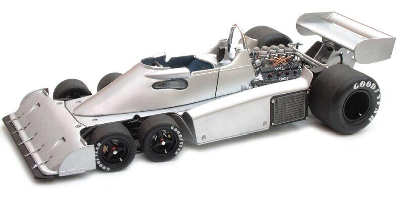 Exoto 1976 Tyrrell P34 6 Wheeler línea pura de aluminio GPC97047 1 18 Nuevo En Caja +