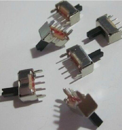 DZ203 20pcs Mini Slide Switch SPDT 2.0mm Pitch 2 Tap Position 3Pin