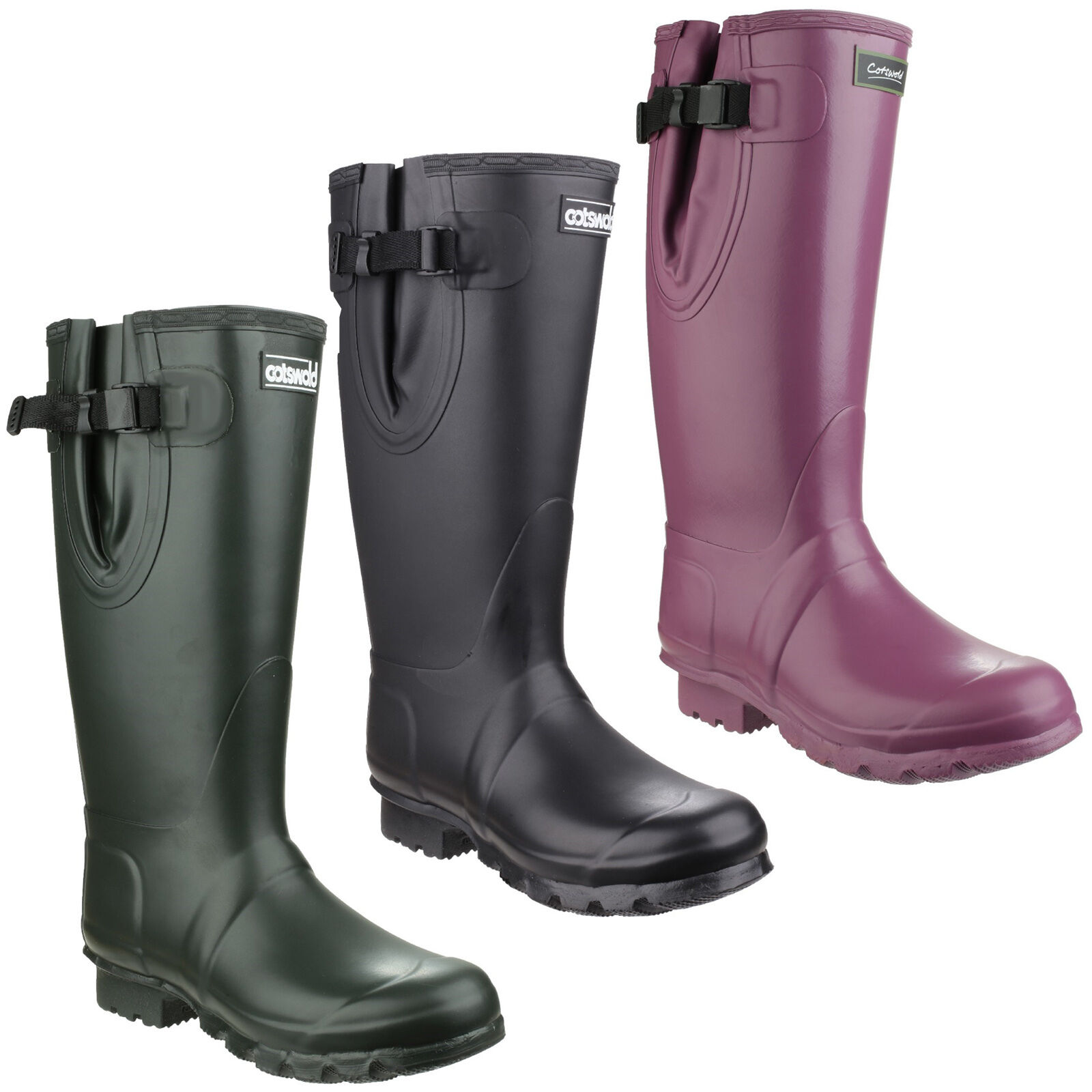 Cotswold KEW Neopreno botas Hombre Niño Impermeable botas de agua uk3-15