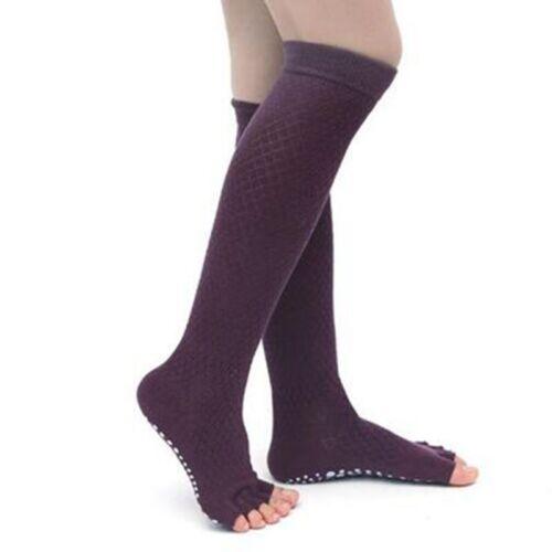 Women Yoga Socks Over Knee Long Stockings Knitted Leg Warmer Fitness Dance Socks