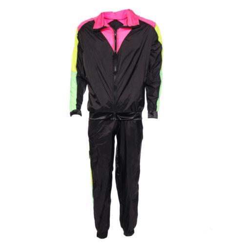 1980s Mens Ladies Scousers Shell Suit Shellsuit Costume Stag Hen Do Fancy Dress