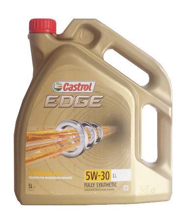 1 Castrol Edge Titanium FST 5W-30 ll sintética de aceite del motor 5 litros