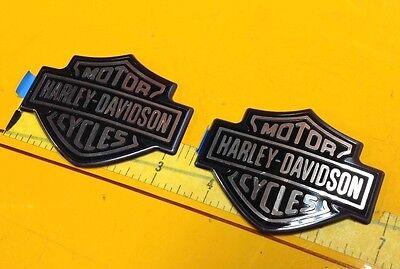 NEW OEM Genuine Harley Fuel Tank  Emblems Badges Dyna Sportster Softail Street X