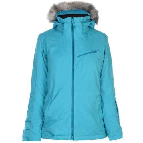 Salomon Damen Rise Skijacke Wasserfest Ski Jacke Warm Isoliert Wintersport