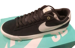 new styles 4a241 5f0a1 Details about Nike SB Blazer Low GT Grant Taylor QS Black Sail 716890 001  Mens size 9 Shoes