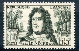 Glorieux Stamp / Timbre France Neuf N° 1208 * Andre Le Notre / Neuf Charniere Marchandises De Proximité