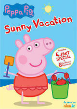 Peppa Pig: Sunny Vacation DVD  (2016)  ~4-Part Special + 8 Fun Peppasodes~