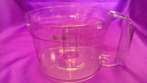 Véritable kenwood acrylique bowl for food processor FP120 FP126 FP190 FP196