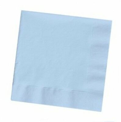 BABY BLUE NAPKINS x 20 Birthday Christening Baptism Boys Party Tableware
