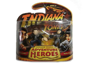 Indiana Jones Adventure Heroes Mutt Williams Irina Spalko New!