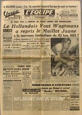Journal l'Equipe n°2573 - 1954 - Tour de France - Bobet - Wagtmans - De Bruyne
