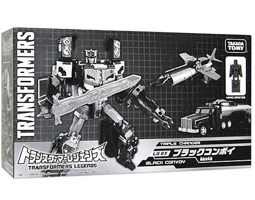 TAKARA TOMY TRANSFORMERS LG-Ex Nero Convoy Optimus Prime Tokyo Toy Show Nuovo Regno Unito