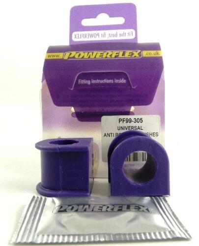 PF99-305 Powerflex 300 Series Anti Roll Bar Bushes 18mm ROAD SERIES 1 in Box