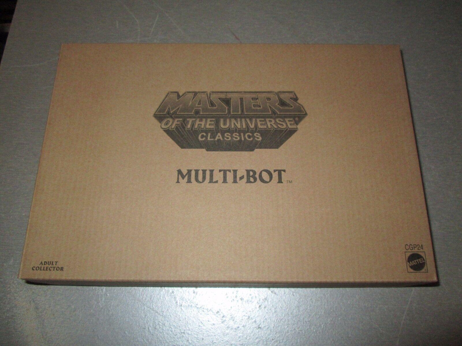 Masters of the Universe Classic Figures Multi-Bot NIB