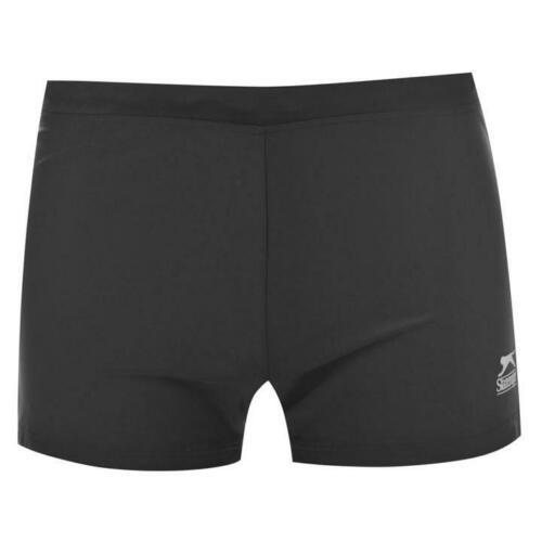 Homme Noir Slazenger Swimwear Swim Natation Boxers Pantalons de plage