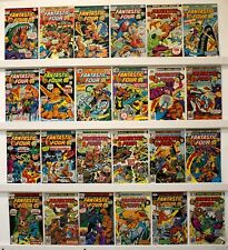 Fantastic Four  Lot of 35 Comics  VG-VF  see below for  Issue #'s and photos