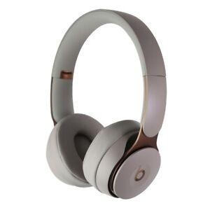 Beats Solo Pro Wireless Noise Cancelling On Ear Headphones Gray Mrj82ll A 190198723376 Ebay