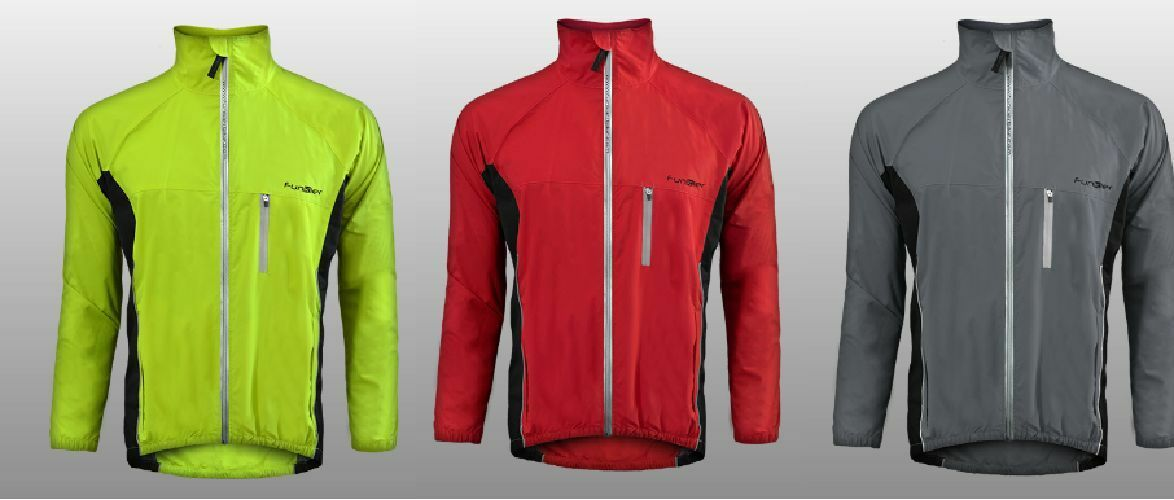 Funkier mannen vrouwnen Winter Wind WaterBesteendig Cycloop Jasje ReflecBindenve Zipper