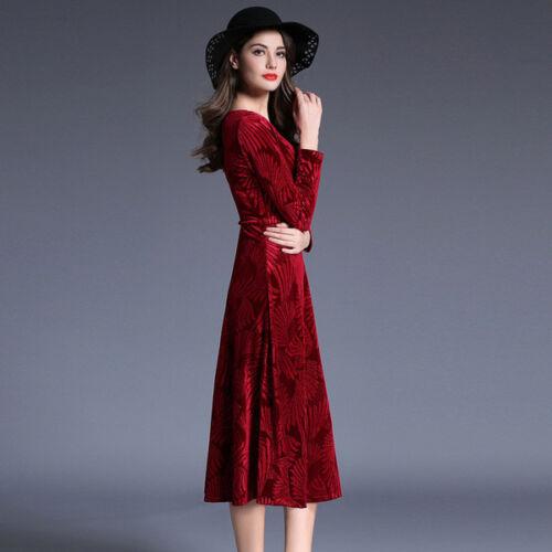 corta moda vestido corto Manga rojo 4829 elegante de cariño 0Zqd1