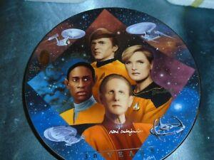 Star Trek--- Starfleet Security -30 Years Ltd Edition Hamilton Collector Plate