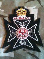 Kings Royal Rifles Corps Q/C Blazer Badge Bullion Military