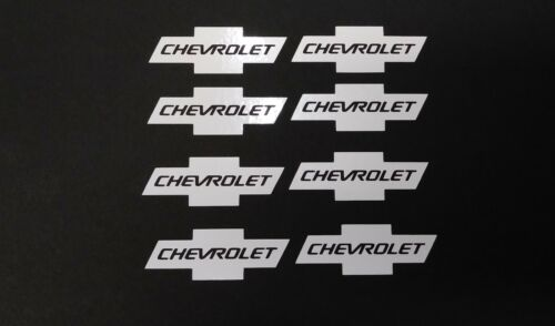 "8X Chevy Bowtie   with word vinyl decal 2/"" Logo  Truck window tumbler Laptop"