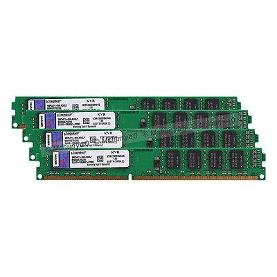 4X4GB Kingston DDR3 1333 PC3-10600 CL9 240 KVR1333D3N9/4G RAM Arbeitsspeicher